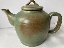 More details for vintage stoneware teapot - rosemary dugdale- bradley ( sunfield pottery)