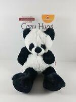 New COZY HUGS Microwavable Aromatherapy Animal Plush Panda Lavender Goldessence
