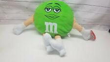 "Toy Factory M&M Character Plush Green Female 20"" Stuffed Plush"