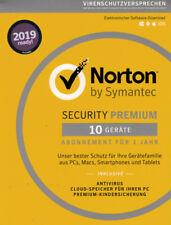 NORTON Internet SECURITY Premium 2019 10 Geräte Download inkl.25GB CloudSpeicher