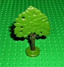 Lego-planta, árbol de roble Plana Vintage pintado con base hueco. 64-69 T2 (ftoakh) PT12