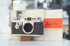 Leica iiiG 35mm Rangefinder Camera Body with Instructions