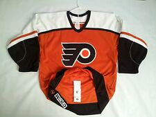 VINTAGE RARE EARLY 90's CCM PHILADELPHIA FLYERS AUTHENTIC HOCKEY JERSEY SIZE 44