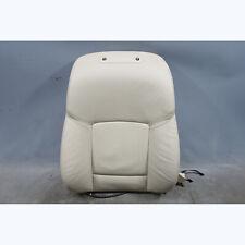 2010-2013 BMW F10 5-Series Front Comfort Seat Backrest Oyster Beige Leather OEM