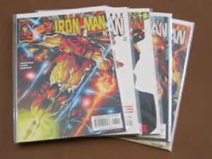 IRON MAN #26 - 30 VF/NM COMPLETE SET MASK IN THE IRON MAN 1ST QUESADA IRON MAN