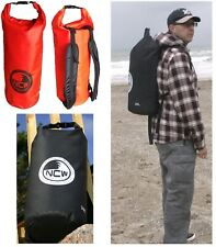 30 45 50 85L Heavy duty PVC dry bag 100% waterproof. With padded rucksack straps