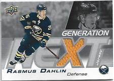 2019-20 Series 1 Generation Next Rasmus Dahlin Jersey A 1:2,592