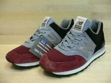 NEW NEW BALANCE US574CM1 BURGUNDY/BLACK/GRAY SIZE 8 MADE IN USA MSRP $179.99