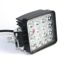 2X 48W LED Work Flood Square Spot Light 12V 24V Off Road Truck 4x4 Boat SUV Lamp