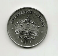 World Coins - Sweden 1 Krona 2003 Coin KM# 894