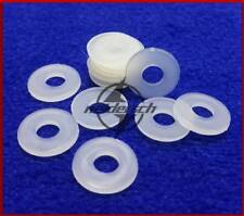 White Nylon Flat Washer Plastic Washer Nylon Insulation Gasket M2 -M12 New
