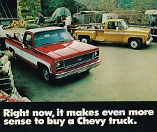 1974 Chevy TRUCK Brochure Mailer:PickUp,C10,K10,BLAZER,SUBURBAN,El Camino,Custom