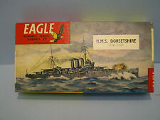 H.M.S.DORSETSHIRE Devonshire Class ship by EAGLEWALL 1/1200 scale Series # 5