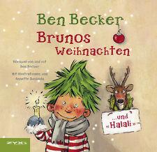 Weihnachts Hörbuch CD Ben Becker Brunos Weihnachten... Und Halali!