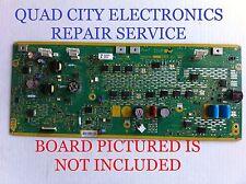 TNPA5351AM, AQ, AH, AG REPAIR SERVICE Panasonic SC Board TC-P50S30 Etc. +Screws