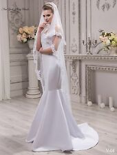 New Wedding Veil ''Kate'' from NYC Bride, made in Europe