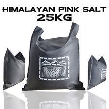 Organic 100% Food Grade Natural Himalayan Pink Crystal Rock Salt 25kg Food Salt