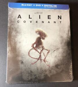 Alien Covenant [ Limited Edition STEELBOOK ] (Blu-ray + DVD) NEW