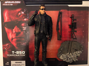 McFarlane Toys Spawn - T-850 Terminator 3 - Arnold Schwarzenegger