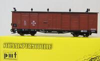Gedeckter Güterwagen der DR ,Ep. III,HOe,1:87,PMT Technomodell,5-4403,NEUWARE