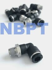 6 mm One Touch Push to connect fitting Male Elbow PL06-R3/8,NBPT 10
