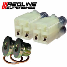 o2 Oxygen Lambda Sensor Eliminator & Blanking Plugs Suzuki M 109 R  06-07