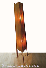 Stehleuchte Mid-Century Modern Rocket Teak Floor Lamp Fog & Mørup Denmark 1960s