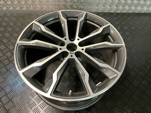 "GENUINE BMW 20"" X3 X4 G01 G02 M Sport 20"" Alloy Wheel 9 1/2J Rear 8010269 699M"