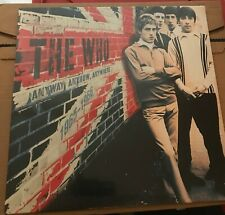 THE WHO - ANYWAY ANYHOW ANYWHERE - LP  RED VINYL - LIMITED EDITION OF 1000