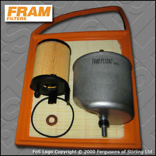 KIT di servizio PEUGEOT 207 1.6 HDi DV6C dv6d FRAM olio aria filtri di carburante (2009-2015)