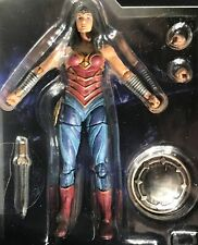 Wonder Woman - Diana 4 Inch Action Figure Dc Comics Injustice 2 Hiya 1:18 Scale