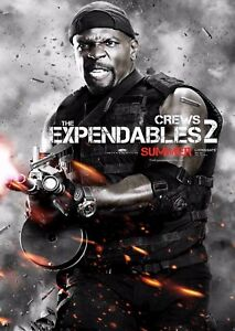 The Expendables 2 Film Poster - Terry Crews - Option 4 - A4 & A3