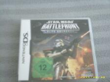 STAR WARS Battlefront Elite Squardron Nintendo DS original komplett in Deutsch