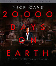 20, 000 Days on Earth Blu-ray (Drafthouse Films) Nick Cave Bad Seeds OOP