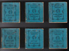 ANTIQUARIAN+LITTLE+FOLKS+LIBRARY+6-VOL.+RARE+MINIATURE+BOOK+SET+1896+CIRCUS+DAY+