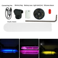 1 Set LED Light Strip Lamp Belt Lámpara Luz Para Xiaomi M365 Patinetes Eléctrico
