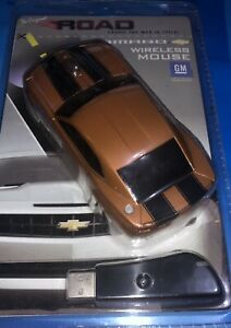 Road Mice Chevrolet Camaro Wireless Computer Mouse Bronze & Black BNIB