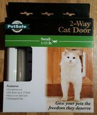 PetSafe 2-Way Lockable Cat Flap Door Small 1-15 lb New in Box