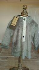 New Ikks Designer Rrp£28.99 cute baby grey teddy fleece 18months BNWT super soft