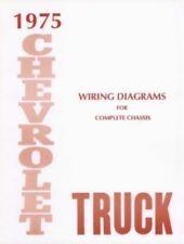 CHEVROLET 1975 Truck Wiring Diagram 75 Chevy Pick Up