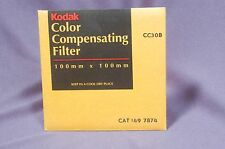"CC30B Blue  NEW Sealed 4"" 100mm Square Kodak Wratten gelatin filter 149 7874"