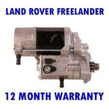 Land rover freelander 2.0 td4 4x4 2000 2001 2002 - 2006 starter motor