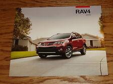 Original 2014 Toyota RAV4 Sales Brochure 14