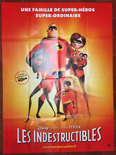 Poster the Indestructibles Incredibles Brad Bird Pixar 120x160cm