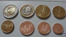 manueduc   ESPAÑA 2004  Las 8 Monedas NUEVAS , Sin Circular