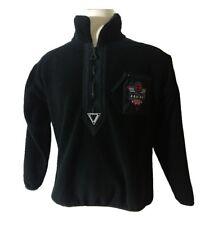 Helly Hansen Equipe Vintage Fleece Ski Winter Jacket Pullover Coat Neon Logo Lg