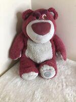 Toy Story Disney Store LOTSO HUGGIN' BEAR  Strawberry Scented Soft Toy Plush 16