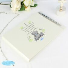 PERSONALISED CHRISTENING - NAMING DAY- BABY - GUEST BOOK & PEN SET BAPTISM