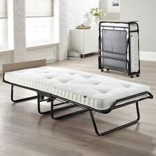 Jay-Be Folding Bed With Pocket Sprung Mattress -single Wheels