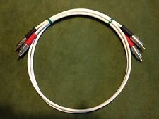 New 3' Belden 1506A High Quality/ Studio Grade Analog RCA Stereo Cables